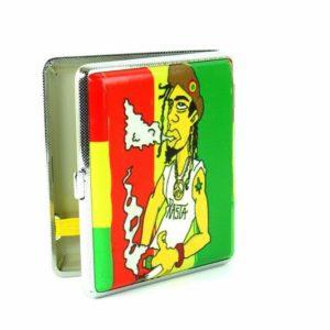 Boite Cigarettes Rastaman Métallique