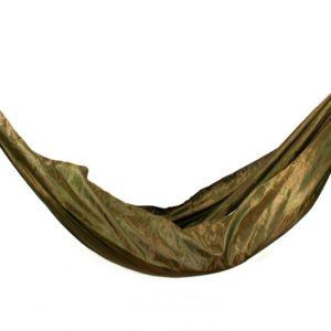 Hamac Tissus Nylon Résistant Kaki Style Parachute Léger
