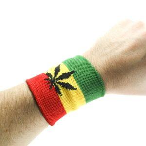 Bandeau de Poignet Cannabis