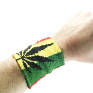 Bandeau de Poignet Marijuana