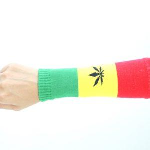 Manchette Avant-Bras Protection Soleil Cannabis