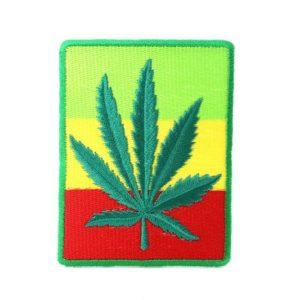 Ecusson Feuille de Weed