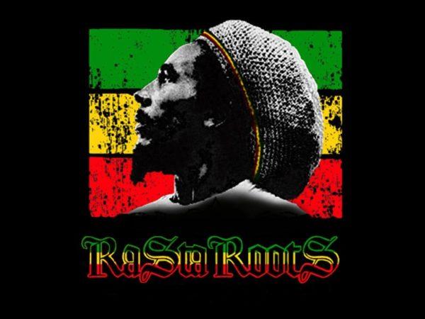 Reggae T-Shirt Bob Marley Coloris Noir Homme Manches Courtes Inédit