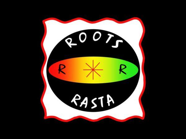 T-Shirt Noir Roots Reggae Œil Jah Rastafari Manches Courtes