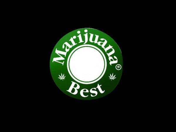 Tee-shirt Best Marijuana Noir