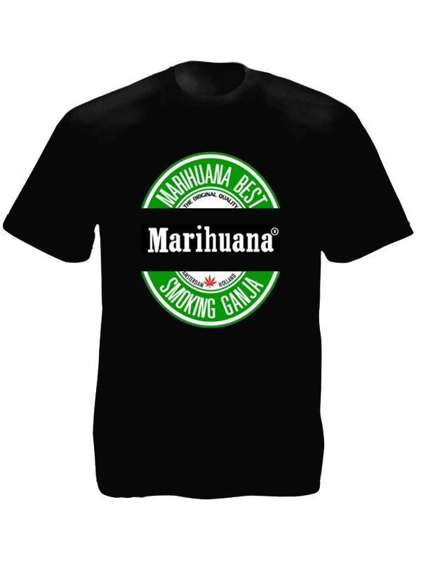 Best Marihuana Tee-shirt Noir